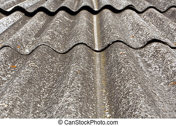 Old slate roof texture.