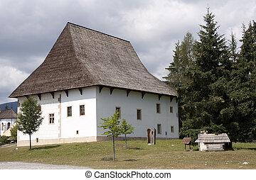 Old Slovak village - Pribylina, Liptov