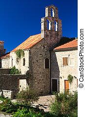 Old small church in Budva, Montenegro