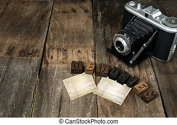 old snapshots with camera