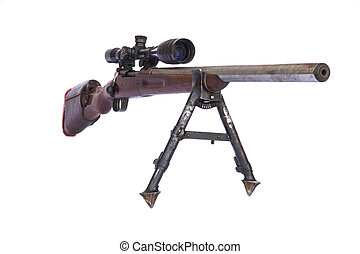 Old Sniper Rifle barrel