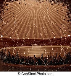 Old Soccer Poster