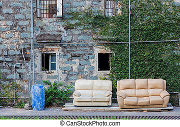Old Sofa outdoor