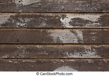 Old Solid Wood Panel