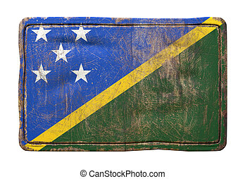 Old Solomon Islands flag