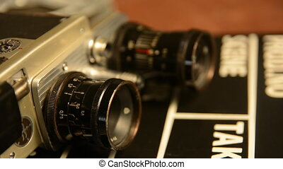 Old Soviet film camera retro lies - The old Soviet film...