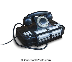 old Soviet government telephone