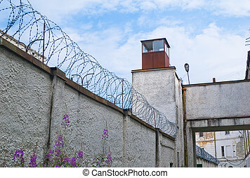 Old Soviet prison in Tallinn