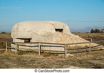 Old Spanish bunker