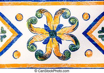 old spanish tile