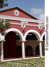 Hacienda Henequenera - Old spanish Yucatecan Hacienda...