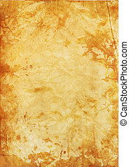 old stained paper