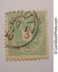 Old Stamp - Old stamp 3 kr