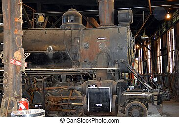 Old steam enging