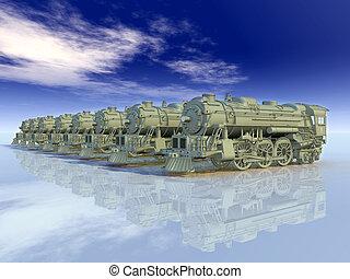Old Steam Locomotives