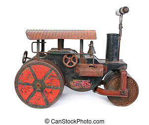 old steamroller toy