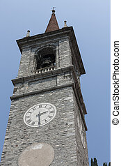 old steeple of the church