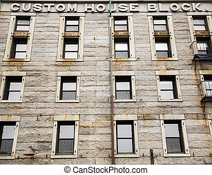 Old Stone Custom House in Boston