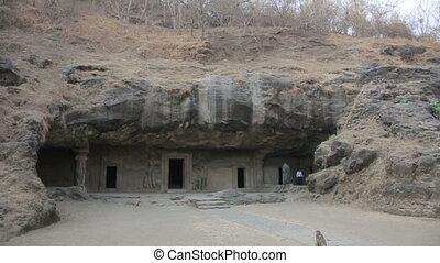 Old stone Hindu temple