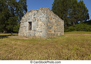 Old Stone Jail House in Coloma, California