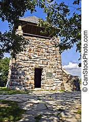 Old Stone Observation Tower - An old stone tower lookout...