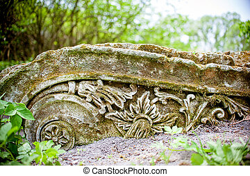 Old Stone ornament