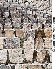 Old stone stairs in Dalmatia