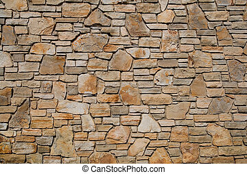 Old stone wall texture, background
