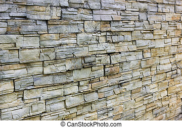 Old stone wall background. Abstract nuture for texture.