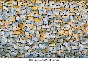 Old stone wall background, texture.