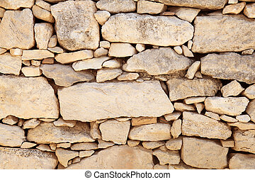 Old stone wall, for backgrounds or textures