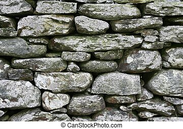Old stoned wall as background