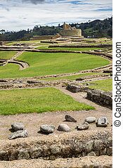 Old stones at the ruins, Ingapirca