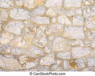stonewall - Old stonewall, close up