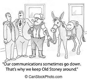 Old Stoney - firm keeps old rider around