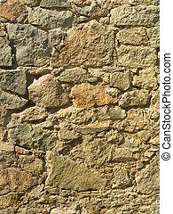 Old stony wall