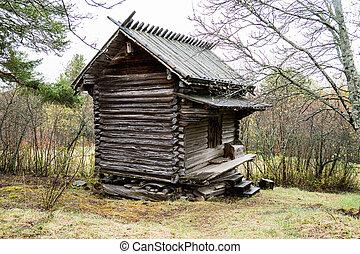 Old storage house