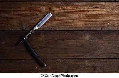 old straight razor