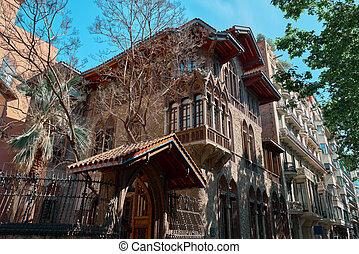 old strange building