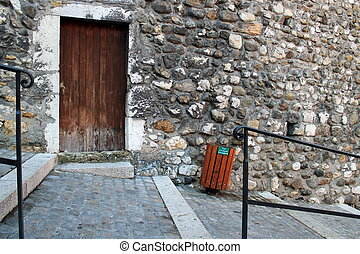 Old street, Annecy, Franc e