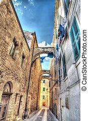 old street in Alghero