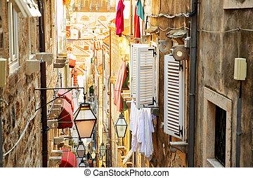 Old street in Dubrovnik