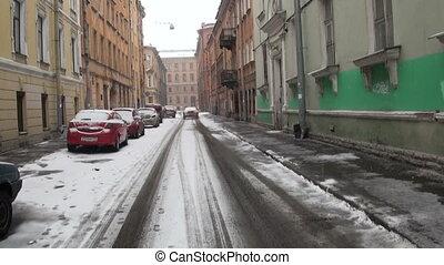 Old street in St. Petersburg