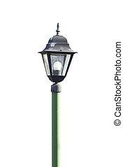 Old street lamp.