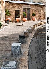 Old street of Jaffa, Israel