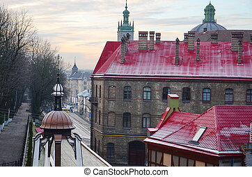Old streets in Lviv, Ukraine - Beautiful Lviv