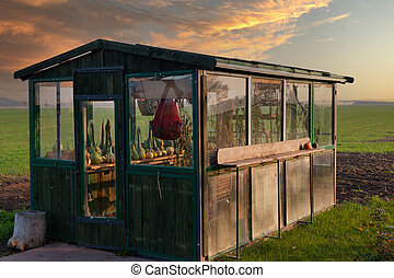 Old style greenhouse.