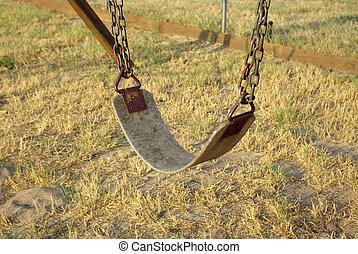 Old swing.