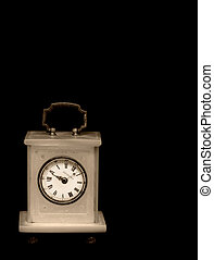 Old table clock