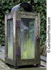 Old Table Lantern